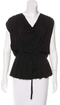Robbi & Nikki Sleeveless Embellished Top