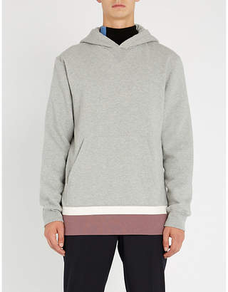 Marni Colourblocked cotton-jersey hoody