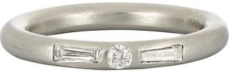 Cathy Waterman Women's Baguettes & Round Band