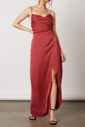 Cotton Candy Silky Slip Dress