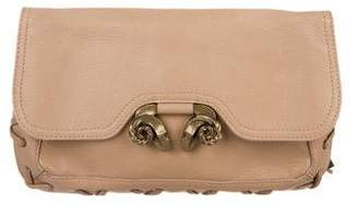 Derek Lam Leather Evie Clutch