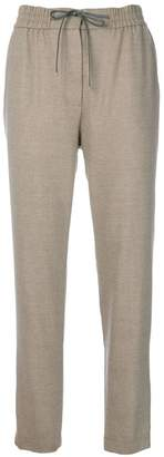 Le Tricot Perugia drawstring tie track pants