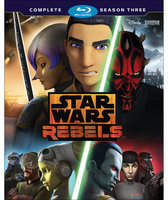 Disney Star Wars Rebels Season Three 3-Disc Blu-ray