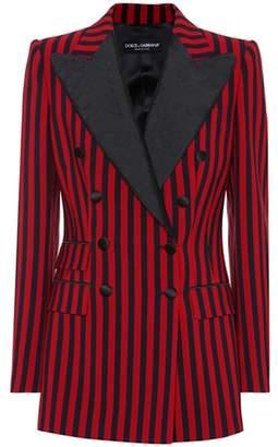 Dolce & Gabbana Striped crêpe blazer