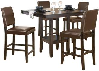 Hillsdale Furniture Arcadia 5-pc. Parson Dining Table & Chairs Set