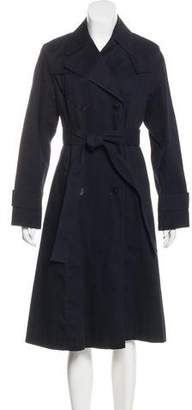 DKNY Long Double-Breasted Coat