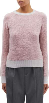 Rag & Bone 'Valerie' contrast edge faux shearling sweater