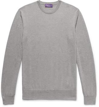 Ralph Lauren Purple Label Slim-Fit Cashmere Sweater