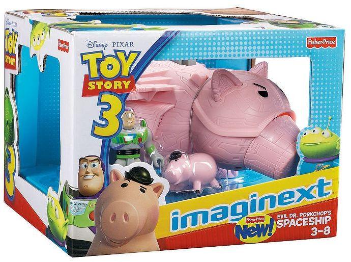 Fisher-Price Disney/pixar toy story 3 imaginext evil dr. porkchop's spaceship playset