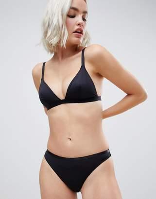 Asos DESIGN recycled microfibre hipster bikini bottom