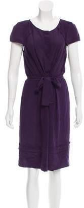 Philosophy di Alberta Ferretti Knee-Length Silk Dress