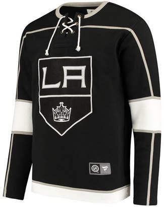 Majestic Men's Los Angeles Kings Breakaway Lace Up Crew Sweatshirt
