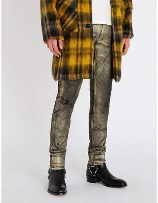Amiri Foil Stack slim-fit skinny jeans