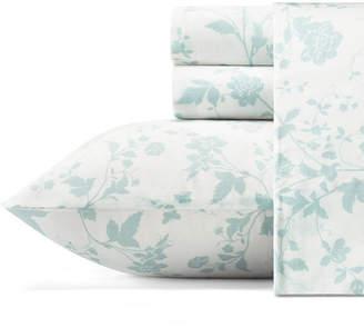 Laura Ashley Garden Palace Pastel Blue Sheet Set, Queen Bedding