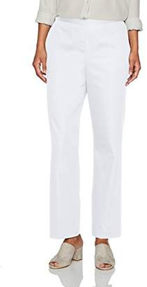 Alfred Dunner Women's Petite Short Pant Clean Front Back