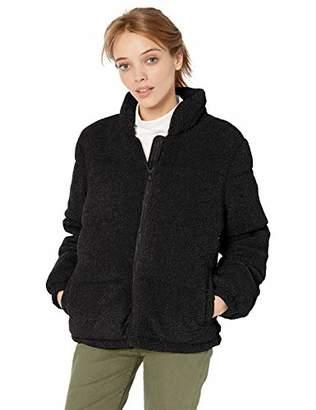 Pink Platinum Women's Teddy Puffer Jacket