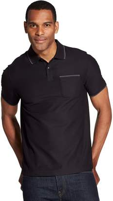Van Heusen Men's Slim-Fit Never Tuck Polo