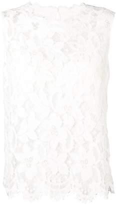 Dolce & Gabbana layered lace tank