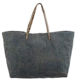 Fendi Canvas Tote Bag