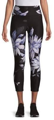 Calvin Klein High-Rise Floral Leggings