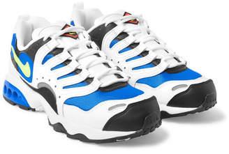 Nike Air Terra Humara '18 Faux Leather And Mesh Sneakers - White