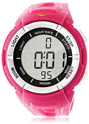 Everlast Women's Automatic Plastic and Rubber Watch
