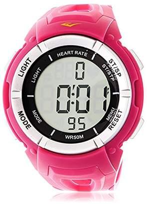 Everlast Women's EVWHR003PK Pink Rubber Watch