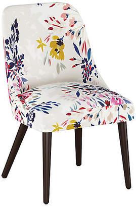 One Kings Lane Barron Side Chair - Watercolor Floral