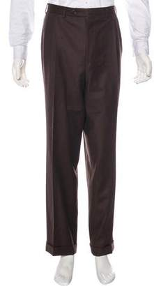 Canali Pleated Wool Pants