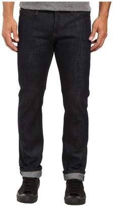 The Unbranded Brand Skinny in 21 OZ Indigo Selvedge Men's Jeans