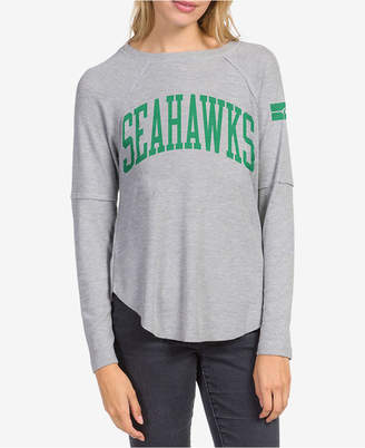c4aae7b8 Junk Food Clothing Women Seattle Seahawks Thermal Long Sleeve T-Shirt