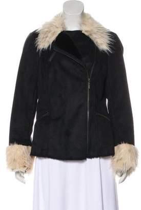 Rachel Zoe Zip-Up Short Coat