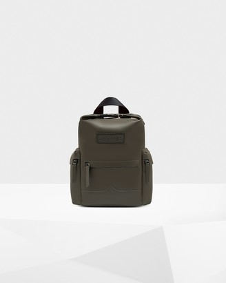 Hunter Mini Top Clip Backpack - Rubberized Leather