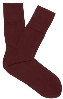 Falke - Tiago Cotton Blend Socks - Mens - Burgundy
