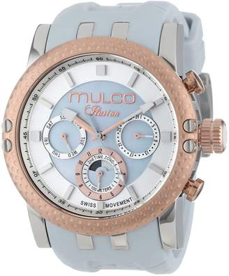 Mulco Women's MW3-11169-013 Lincoln Illusion Chronograph Analog Swiss Movement Watch