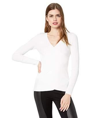 Bailey 44 Women's Warm Heart Long Sleeve V Neck Sweater