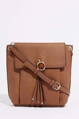 61957a6544f7 at Next · Next Womens Warehouse Tan Ring Tassel Cross Body Bag