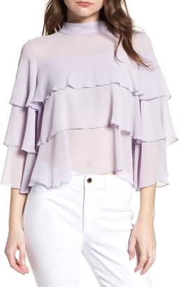 Bishop + Young BISHOP AND YOUNG Tiered Ruffle Blouse