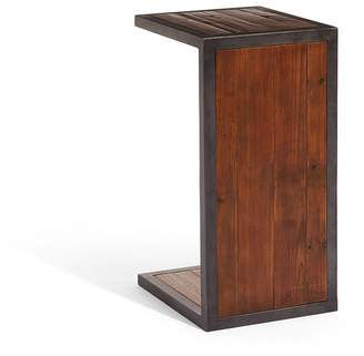 LOMBOK Baxter Square Industrial Over Arm Side Table