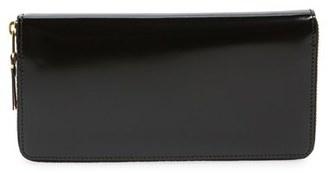 Men's Comme Des Garcons Continental Wallet - Metallic $331 thestylecure.com