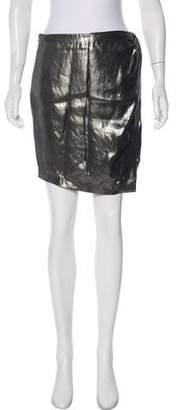 IRO Shanina Metallic Skirt