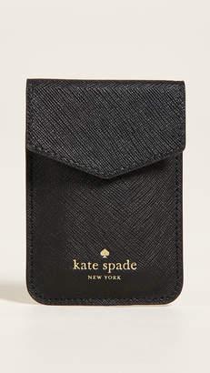 Kate Spade Envelope Sticker Phone Pocket