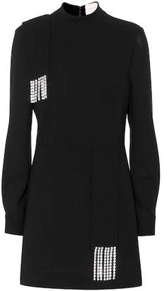 Christopher Kane Embellished wool dress