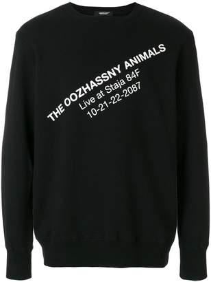Undercover contrast print sweatshirt