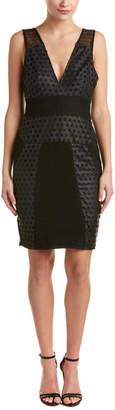 KENDALL + KYLIE Laser Cut Sheath Dress