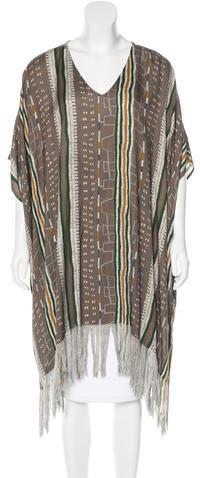 Antik BatikAntik Batik Fringed Abstract Print Tunic