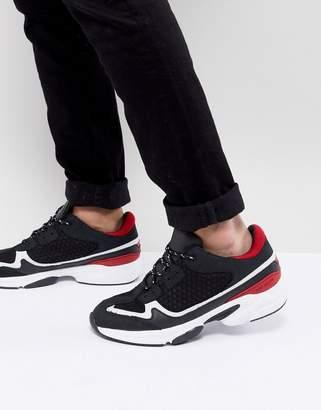 Kurt Geiger London Ivanoe Sneakers In Black