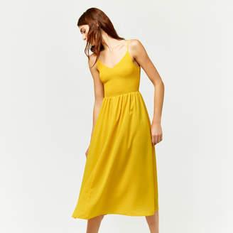 Warehouse Smock Bodice Cami Dress