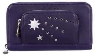 Longchamp Le Pliage Cuir Étoiles Zip Wallet