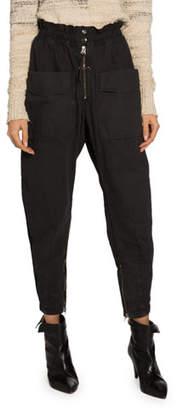 Etoile Isabel Marant Lecia Utility Jogger Pants